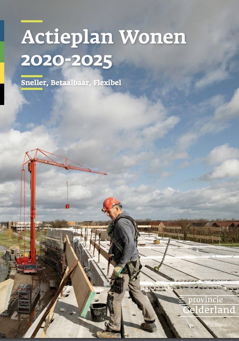 Actieplan Wonen: snel, flexibel en innovatief bouwen