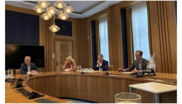 Gelderse VVD in gesprek met minister Wiebes