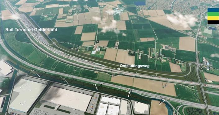 Railterminal Gelderland weer een stap dichterbij