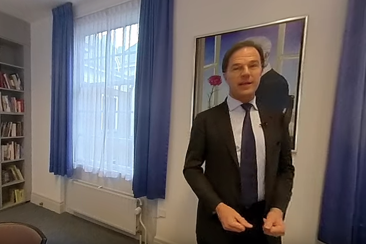 VR 360 Video: Mark Rutte VVD over Gelderland